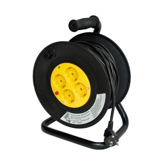 Prelungitor pe tambur 25 m, cablu 1 mm