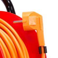 Prelungitor pe tambur 40 m, cablu 3x1.5 mm Inlet