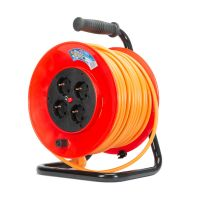 Prelungitor pe tambur 50 m, cablu 3x1.5 mm Inlet