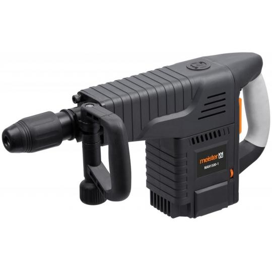 Ciocan demolator (picamer) Meister MAH1500-2, 1500W, 25 Joule, SDS Max + set accesorii