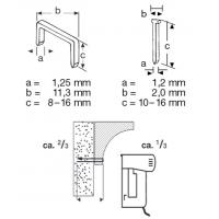 Capsator electric capse si cuie Meister MET14-16, capse 8-16 mm, cuie 10-16 mm