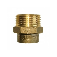 Conector FE 18x1/2 Bronz