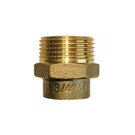 Conector FE 22x1/2 Bronz