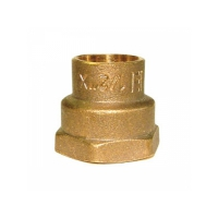 Conector FI 12x1/2 Bronz