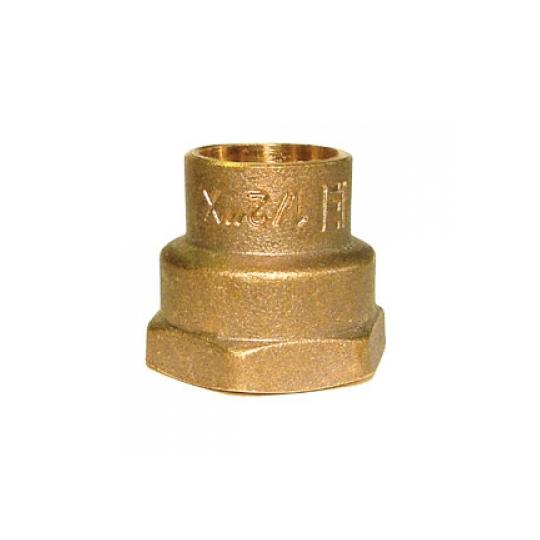 Conector FI 22x1/2 Bronz