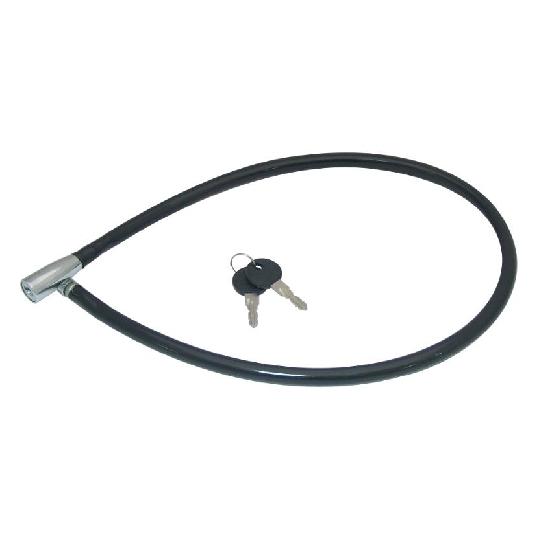 Lacat Cablu pentru Bicicleta 800 mm + 2 chei