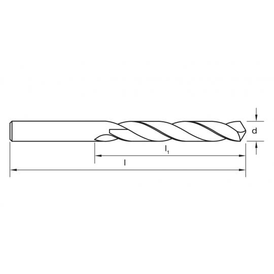 Burghiu Metal HSS Pro D4.2X75 mm Irwin