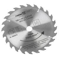 Disc circular 185x20x2.2 mm 24 Z Meister