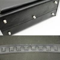 Geanta scule din piele 420 x 150 x 250 mm Leder Profi Meister
