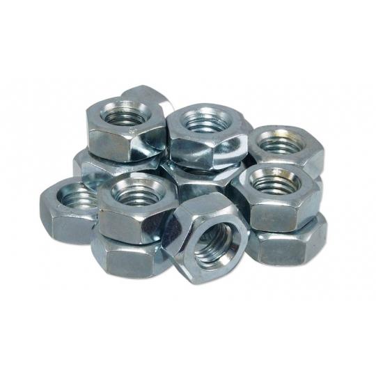 Piulite hexagonale cu filet metric M16 - 100 buc (DIN 934-8)