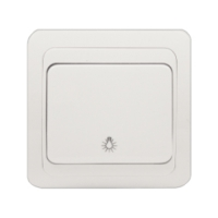Intrerupator iluminat scara ST Basic Alb
