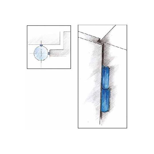 Balama cu doua aripi sudabila 120x15 mm