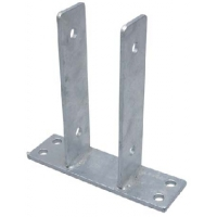 Suport U cu placa 60x200x141x6,0 mm