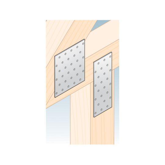 Placa perforata tip 1 60x200x2,0 mm