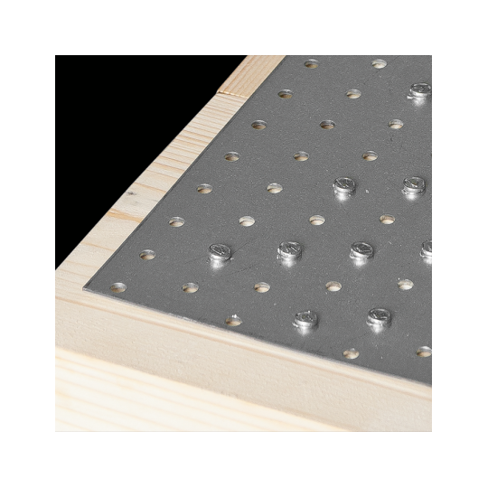 Placa perforata tip 1 80x200x2,0 mm
