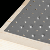 Placa perforata tip 1 100x260x2,0 mm