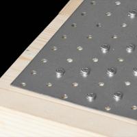 Placa perforata tip 1 100x300x2,0 mm
