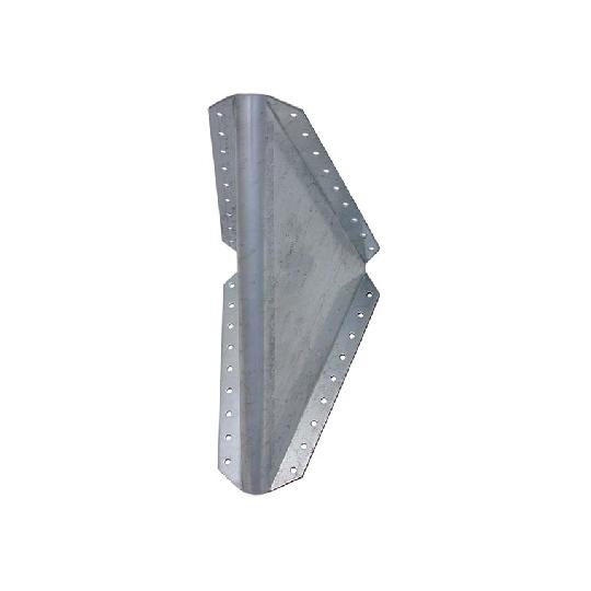 Consola 90 grade 210x210x100x2 mm