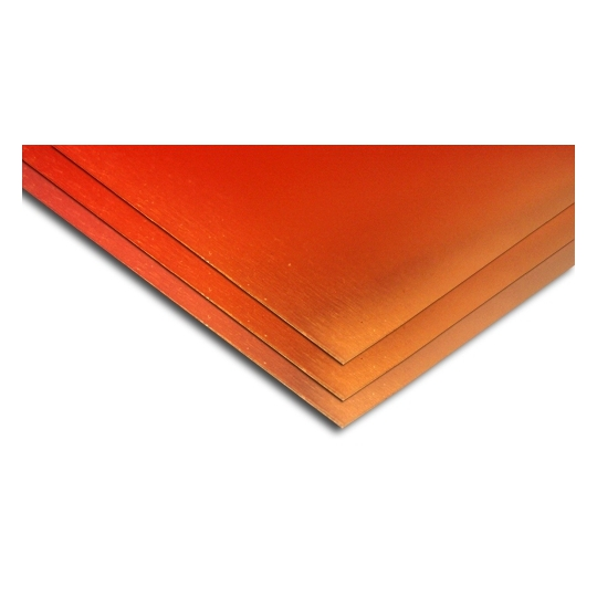 Tabla cupru 1,5x1000x2000 semidur DHP