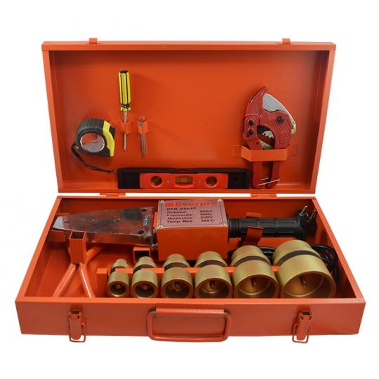 Trusa sudura PPR 20-63 Standard, 1500W, cutie metalica + accesorii