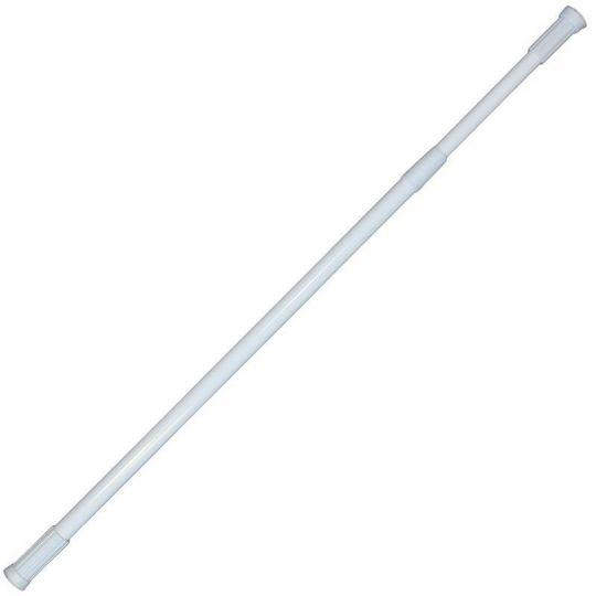 Bara alb telescopica pentru perdea dus 110-200 cm Cleanmann