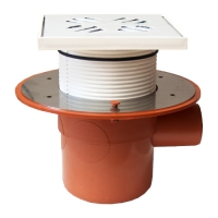Sifon terasa STYRON cu inaltator 50 mm, 1 iesire