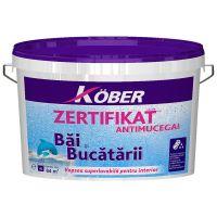 Vopsea superlavabila antimucegai pentru bai si bucatarie Zertifikat 4 l Kober