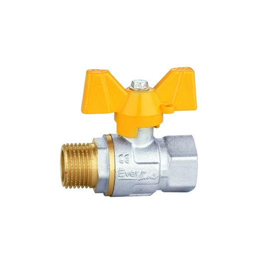 Robinet gaz 3/8 MT, PN40 Everpro