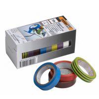 Set 10 benzi adezive 12 mm Meister, culori asortate