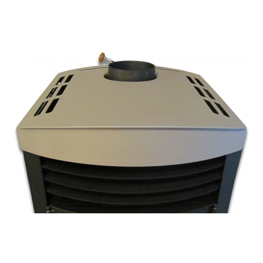 Termosemineu PRITY SKW10 10+6 kW Design