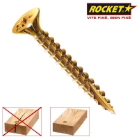 Surub Pal sau lemn cu varf crestat 4.0x25 Rocket- 500 buc