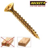 Surub Pal sau lemn cu varf crestat 6.0x120/70 Rocket - 100 buc