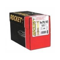 Surub Pal sau lemn cu varf crestat 6.0x160/70 Rocket - 100 buc