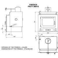 Termo focar Prity MW18 23kW
