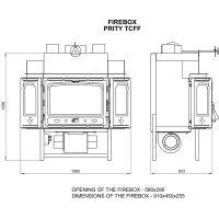 Focar cu ventilator Prity TCF 18kW
