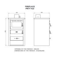 Soba incalzit Prity K22 10 kW
