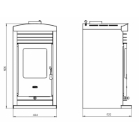 Semineu Prity SK 10 kW Design