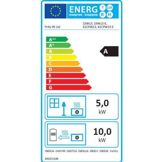 Termosemineu PRITY S3W13 13+5 kW