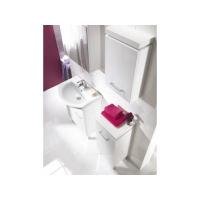 Dulap de baie Olivia, alb pentru lavoar Libra 50 Cersanit