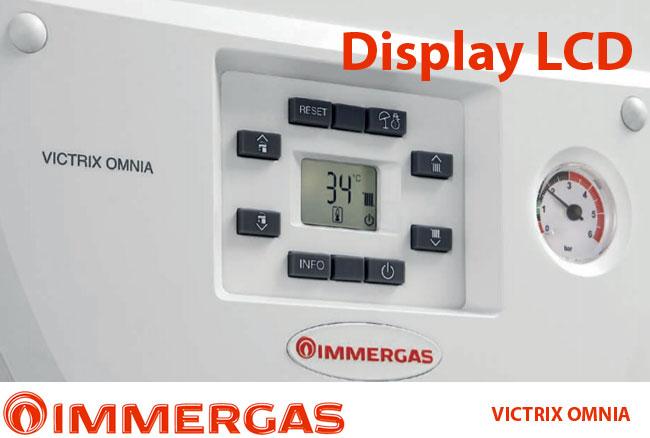 Centrala termica in condensare Immergas VICTRIX OMNIA, incalzire+ACM, 20 kW, clasa A, kit evacuare inclus