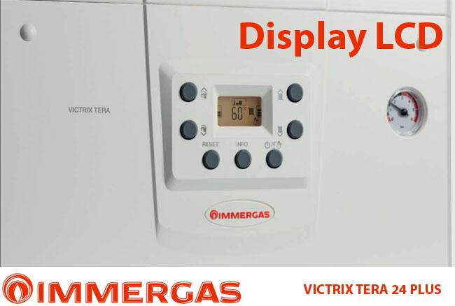 Centrala termica in condensare Immergas VICTRIX TERA 24 PLUS, incalzire, 24 kW, clasa A