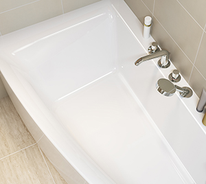 Cada de baie Cersanit Virgo MAX 150x90 cm + set picioare inclus
