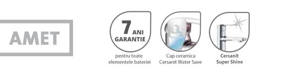 Baterie dus Amet Cersanit