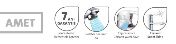 Baterie lavoar Amet Cersanit