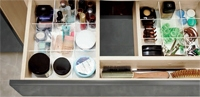 Set dulap de baie alb Cersanit Smart + lavoar Carina 70