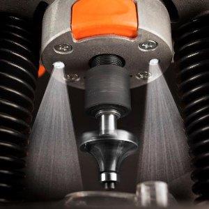 Masina de frezat Meister MOF1300-1, 1300 W, 28000 RPM, 55 mm, LED iluminare, geanta transport