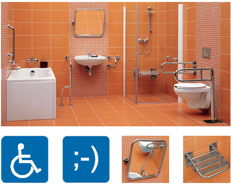 Lavoar Etiuda 65 persoane dizabilitati Cersanit